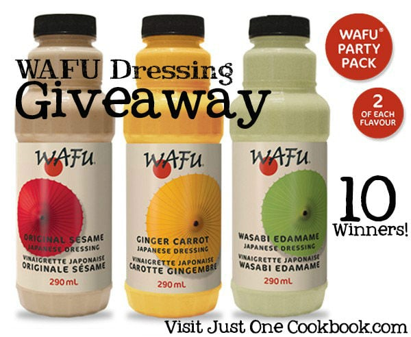 Wafu Giveaway Party Pack
