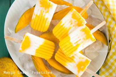 Mango Lassi Popsicles   Easy Japanese Recipes at JustOneCookbook.com