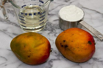 Mango Lassi Popsicles Ingredients