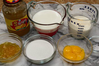 Yuzu Ice Cream Ingredients