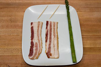 Bacon Wrapped Asparagus Ingredients