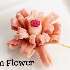 Ham Flower | Easy Japanese Recipes at JustOneCookbook.com