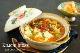 Kimchi Jjigae | Easy Japanese Recipes at JustOneCookbook.com