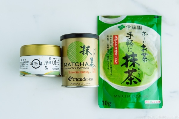 Green Tea Powder Matcha Just One Cookbook