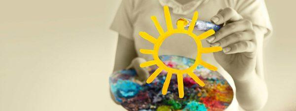 painting the sun