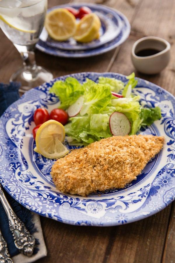 Baked Chicken Katsu 揚げないチキンカツ   Easy Japanese Recipes at JustOneCookbook.com