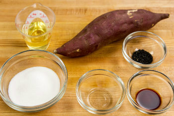 Candied Sweet Potatoes Ingredients