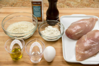 Crispy Baked Chicken Ingredients