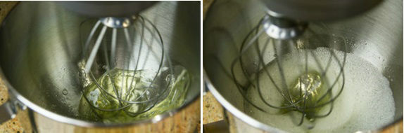 Green Tea Chiffon Cake 3