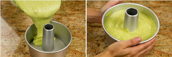 Green Tea Chiffon Cake 7
