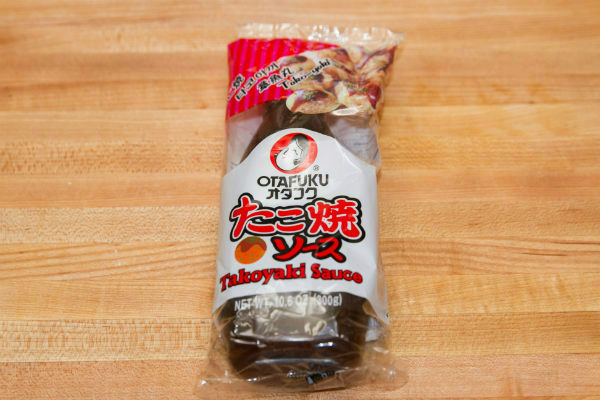 Takoyaki Sauce in a package..