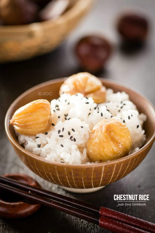 Chestnut Rice (Kurigohan) | Easy Japanese Recipes at JustOneCookbook.com