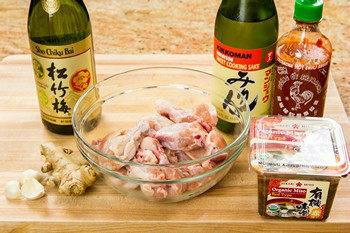 Spicy Miso Chicken Ingredients