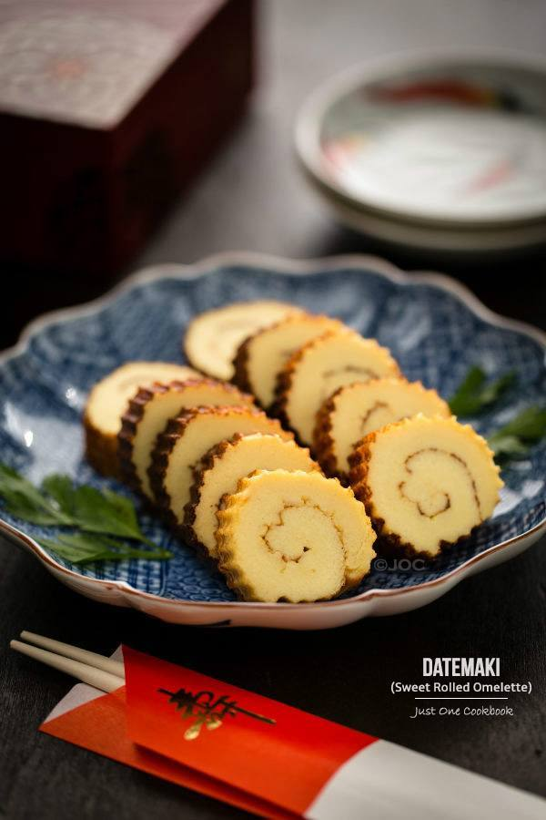 Datemaki (Sweet Rolled Omelette) | Easy Japanese Recipes at JustOneCookbook.com