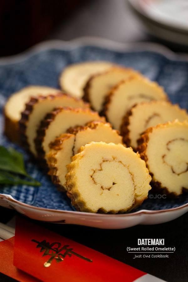 Datemaki (Sweet Rolled Omelette) | Easy Japanese Recipes at JustOneCookbook.com