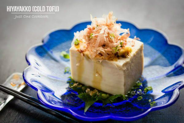 Hiyayakko (Chilled Tofu) | Easy Japanese Recipes at JustOneCookbook.com