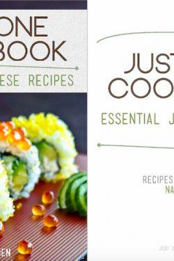 Just One Cookbook Essential Japanese Recipes-eCookbook cover