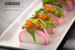 Kamaboko with Salmon Roe   Easy Japanese Recipes at JustOneCookbook.com