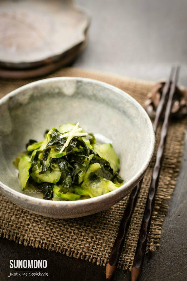 Sunomono (Cucumber Salad) | Easy Japanese Recipes at JustOneCookbook.com