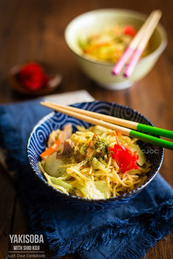 Yakisoba with Shio Koji   Easy Japanese Recipes at JustOneCookbook.com