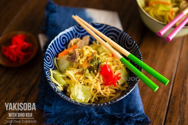 Yakisoba with Shio Koji | Easy Japanese Recipes at JustOneCookbook.com