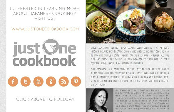 Just one cookbook ebook essential japanese recipes just one cookbook i hope you love each part of the designs in this ecookbook as much as i do i worked very closely with my designer divya of divya yadava food forumfinder Image collections