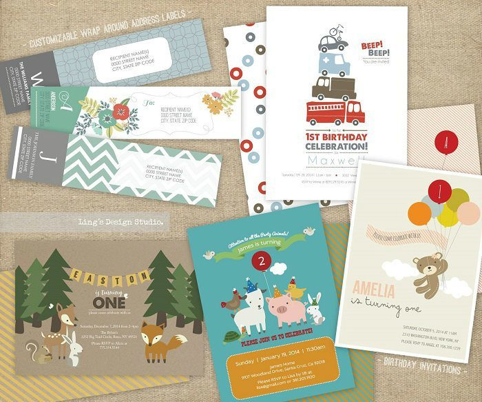 Ling's Design Studio Stationery Giveaway!
