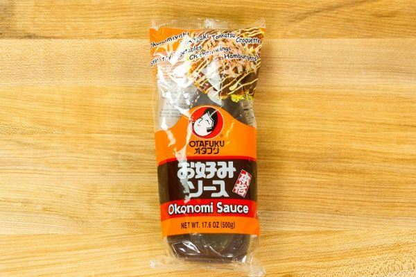 Okonomi Sauce in a package.