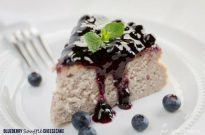 Blueberry Soufflé Cheesecake | Easy Japanese Recipes at Just One Cookbook