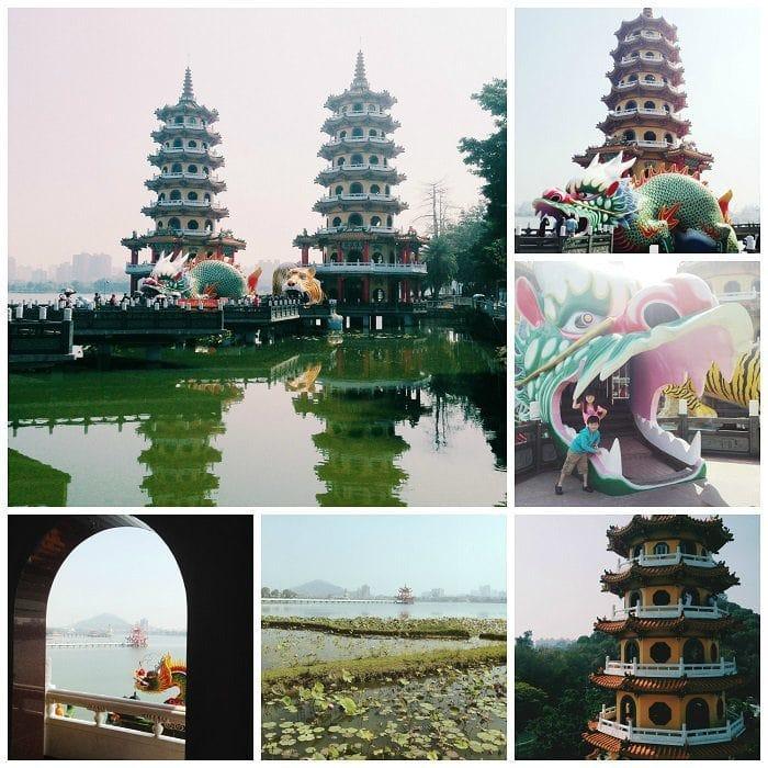Dragon Tiger Towers Taiwan