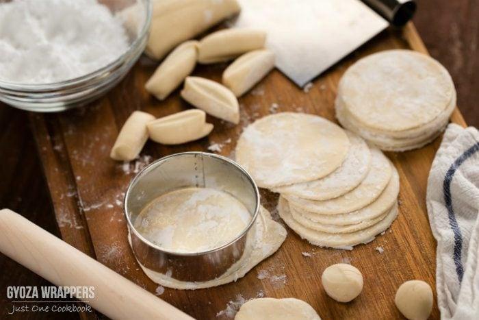 Gyoza Wrappers 餃子の皮の作り方 Just One Cookbook