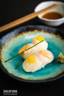 scallop sushi | Just One Cookbook