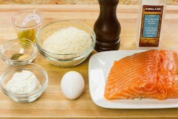 Crispy Salmon Ingredients