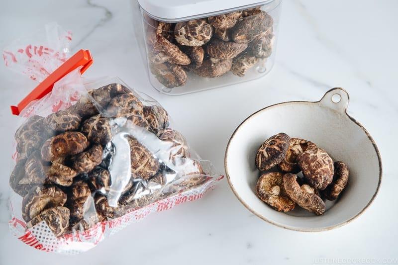 Dried Shiitake Mushrooms | Easy Japanese Recipes at JustOneCookbook.comDried Shiitake Mushrooms | Easy Japanese Recipes at JustOneCookbook.com