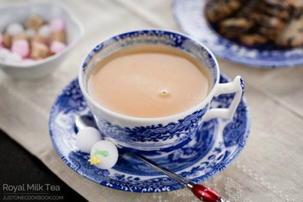 A cup of Royal Milk Tea.