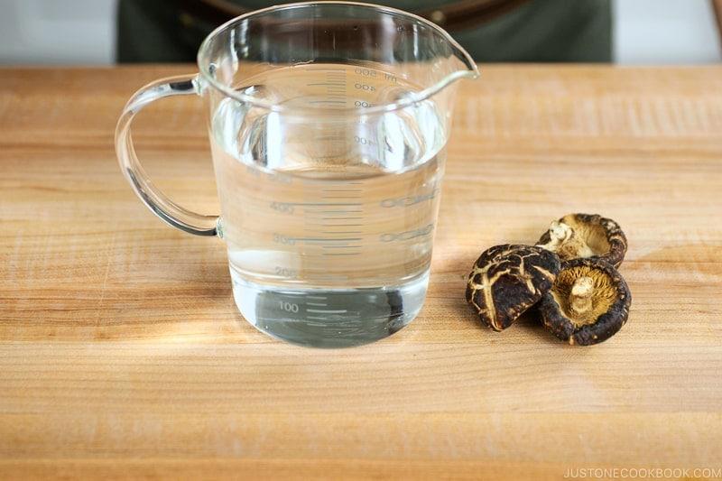 Shiitake Dashi Ingredients 2