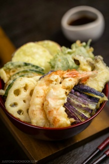 Tendon (Tempura Donburi) | Easy Japanese Recipes at JustOneCookbook.com