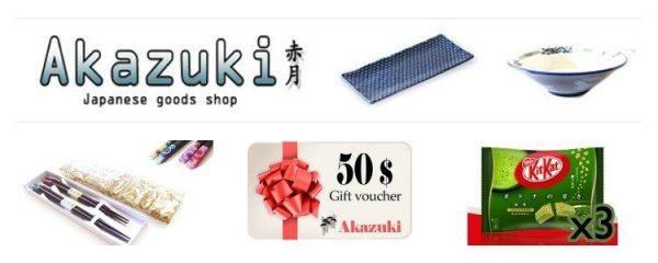 Akazuki Shop Giveaway 2014