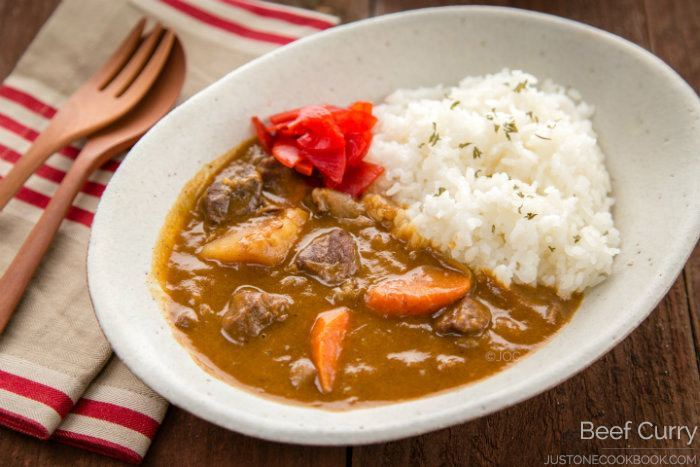 Japanese Beef Curry Ã�ーフカレー Just One Cookbook