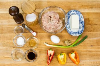 Chicken Meatballs Ingredients