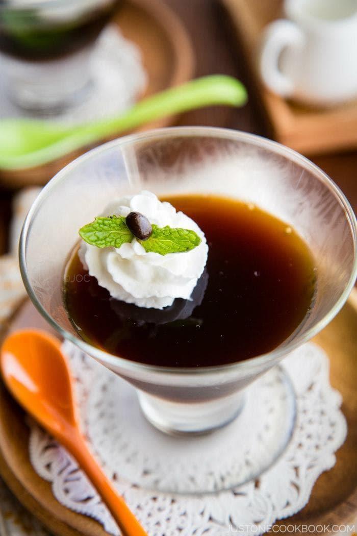 Coffee Jelly Recipe | Easy Japanese Recipes at JustOneCookbook.com