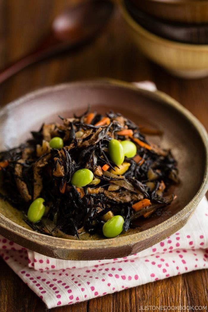 hijiki seaweed salad ����� � just one cookbook
