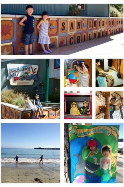 Avila Beach | SLO Children's Museum| Just One Cookbook