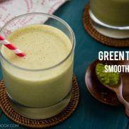 Green Tea Smoothie   Easy Japanese Recipes at JustOneCookbook.com