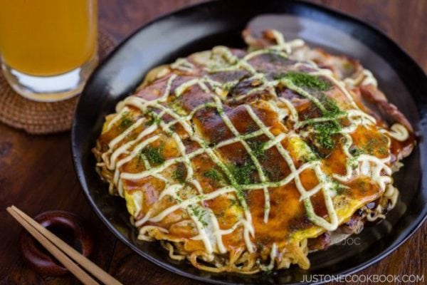 Hiroshimayaki (Hiroshima Style Okonomiyaki) | Easy Japanese Recipes at JustOneCookbook.com