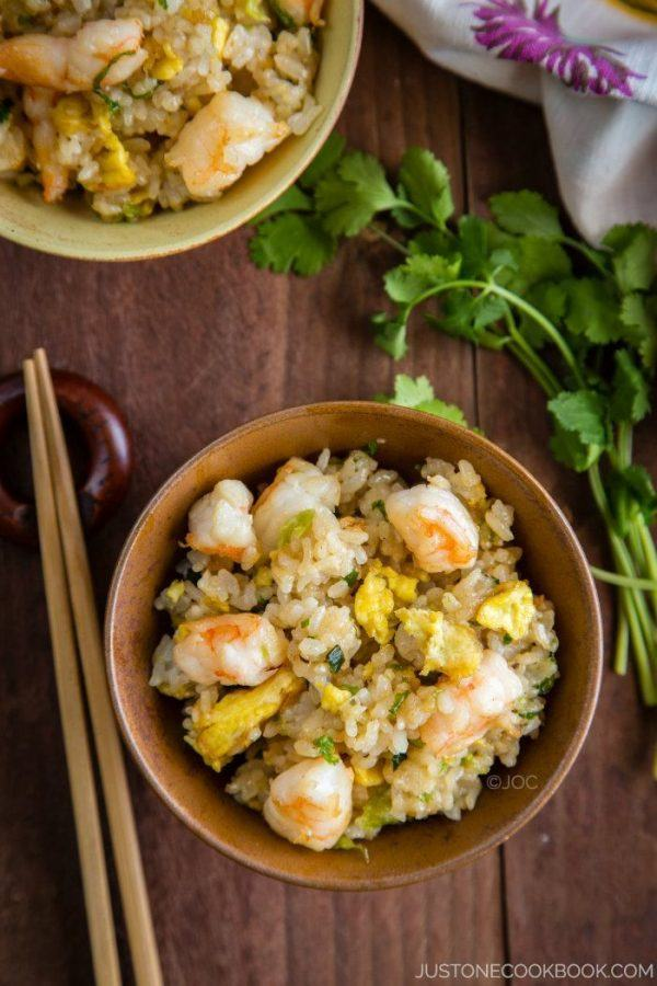 Shrimp Fried Rice 海老チャーハン Just One Cookbook