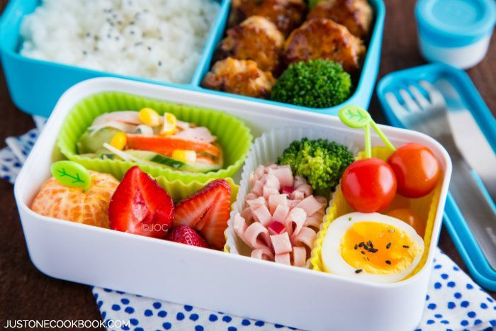 Chicken Meatball Bento O Just One Cookbook
