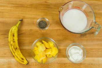 Mango Coconut Ingredients