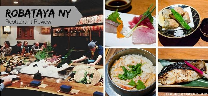 Robataya NY | Restaurant Review | Just One Cookbook