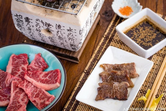 Yakiniku sauce just one cookbook - How to build a korean bbq table ...